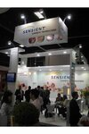 Sensient stand at the FCE exhibition in Sao Paulo
