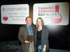Scott Wenzel (Kimberly-Clark) and Rachel Grabenhofer (<em>Cosmetics & Toiletries</em>)