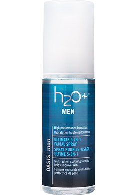H2O Plus Oasis Men Ultimate 5-In-1 Facial Spray