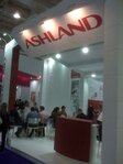 Ashland stand at the FCE exhibition in Sao Paulo