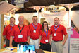 The Bluestar Silicones team at Suppliers' Day 2013