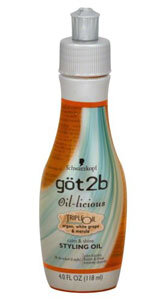 Read the Label Online: göt2b Oil-licious Calm & Shine Styling Oil