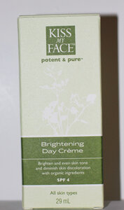 Read the Label Online: Kiss My Face Brightening Day Crème