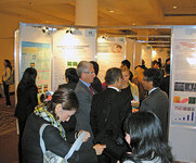 Poster presentations were given during the three days of the IFSCC Congress, with topics ranging from developments in actives to methods to assess cosmetic efficacy, among others.