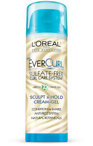 Read the Label Online: LOréal EverCurl Sculpt & Hold Cream-Gel