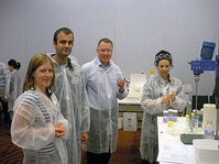 Attendees rolled up their sleeves and got hands-on in pre-conference formulation workshops during the IFSCC 2009 event.