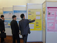 Poster sessions allowed researchers to present and discuss their work in a one-on-one setting.