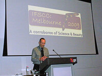 Nick Urquhart of the IFSCC Steering Committee welcomed attendees to the 2009 IFSCC Conference.