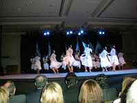 Attendees were treated to a traditional Argentinian folk ballet performance.