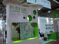 "In-Focus at In-Cosmetics 2011 featured the theme ""Sustainable Beauty."""
