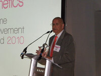 Alain Khaiat, PhD, was awarded the In-Cosmetics Lifetime Achievement Award for his service to the industry.