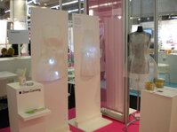 In-Focus Fashion at In-Cosmetics in Paris featured fabrics and formulations inspired by the Sensuous Veil trend.