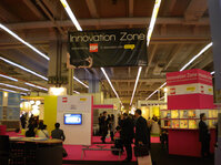 Again this year, Mintel organized an Innovation Zone, complete with innovative finished products and raw materials.