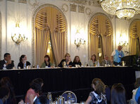 The Board of Directors for the SCC presided over the luncheon at the Scientific Seminar.