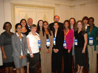 Mindy Goldstein, PhD; Gary Agism, PhD, Randy Wickett, PhD, Debbie Pierce and the students from the University of Cincinnati