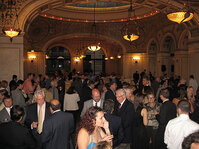Attendees mingle at the MWSCC's Social Night.