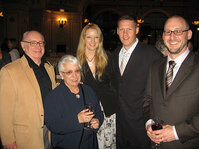 From left: Jerry Kenney; Dolores Kenney, Olson & Cepuritis Ltd.; Rachel Chapman, <em>C&T</em> magazine; Tom Harris, <em>C&T</em> magazine; and Jeff Falk, <em>GCI</em> magazine