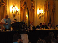 The SCC Board of Directors presided over the luncheon at the Annual Scientific Seminar.