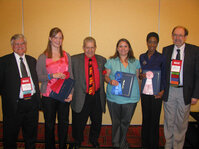 From left: Robert Lochhead, PhD; Laura Anderson; Don Katz; Michelle McCluskey; Amber Evans; and Randy Wickett, PhD