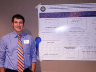 Andrew Kosal from the University of Notre Dame was chosen as the winner of the Best Poster Award.