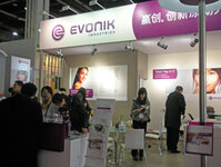 Evonik booth at PCHi 2010