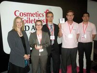 Rachel Grabenhofer (<em>Cosmetics & Toiletries</em>) and the entire team from Interpolymer