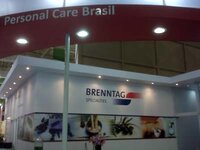 Brenntag booth at FCE/COLAMIQC in Sao Paulo