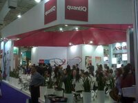 Quanti Q stand at the FCE exhibition in Sao Paulo
