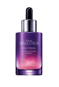 Read the Label Online: Missha Time Revolution Night Repair New Science Activator Ampoule