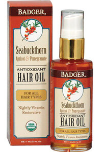 Read the Label Online: Badger Seabuckthorn Hair Oil for All Hair Types