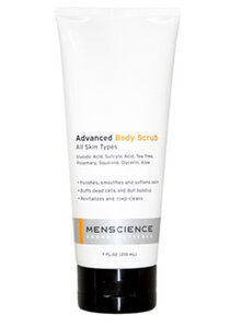 Exfoliants and Acids Combined for Mens Body Scrub