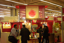 A number of Cosmetic Valley member companies exhibited at In-Cosmetics in Paris under the group's area.