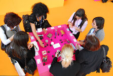 Attendees at in-cosmetics 2009