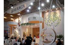 Beraca booth at FCE/COLAMIQC in Sao Paulo