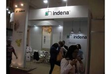 Indena stand at the FCE exhibition in Sao Paulo