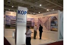 KOP do Brasil stand at the FCE exhibition in Sao Paulo (Editor's note: Image taken before the start of the show)