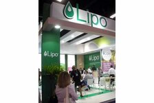 Lipo stand at the FCE exhibition in Sao Paulo