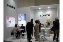 Lonza stand at the FCE exhibition in Sao Paulo
