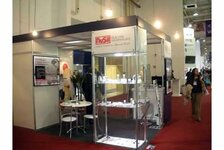 Nusil booth at the FCE exhibition in Sao Paulo