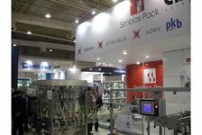 Simbios-Pack, among other packaging and pharmaceutical processing exhibitors, showcased its equipment at the FCE exhibition in Sao Paulo
