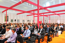 Many of the marketing trends presentation were full.