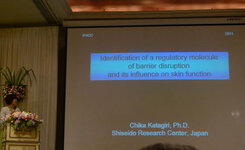 Chika Katagiri, PhD, from Shiseido was a keynote speaker at the 2011 IFSCC Conference in Bangkok.
