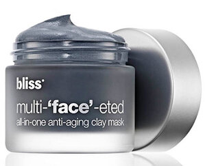 Read the Label Online: Bliss Multi-'Face'-Eted All-in-One Anti-aging Clay Mask