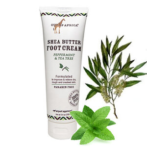 Foot Cream Made With 20% Pure, Unrefined Shea Butter