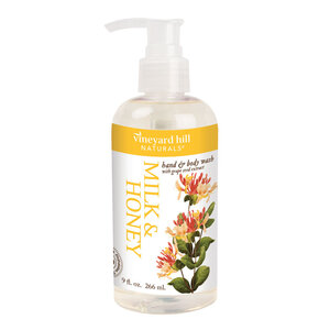 Multi-Functional Milk and Honey Body Wash