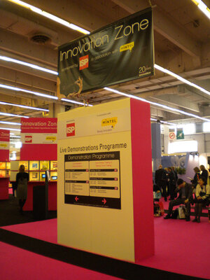 The Innovation Zone at In-Cosmetics in Paris