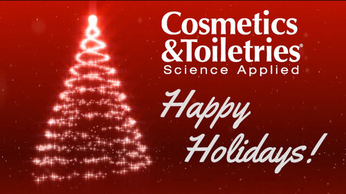 Happy Holidays from Cosmetics & Toiletries