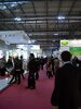 The show floor at In-Cosmetics 2011 in Milan