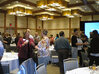 Attendees at the MWSCC 2010 Technical Symposium mingle before the event begins.