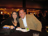 Tracey Lundquist and Jack Stanaszek of J&E Sozio Inc. enjoy food and conversation at the MWSCC's Social Night.